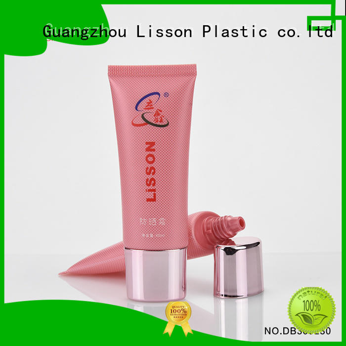 Lisson Brand covered as golden luxury lotion packaging
