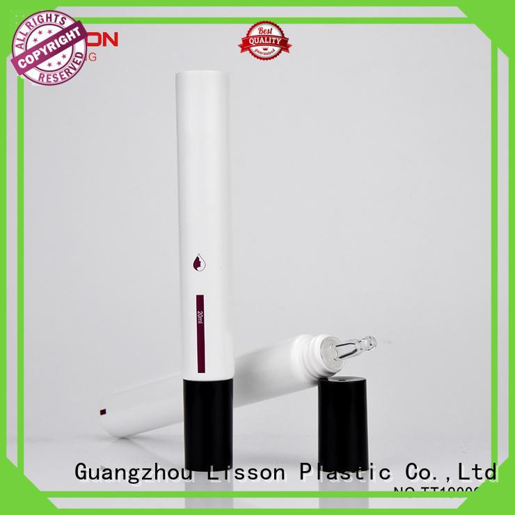 15ml white plastic tube with acrylic dropper applicator