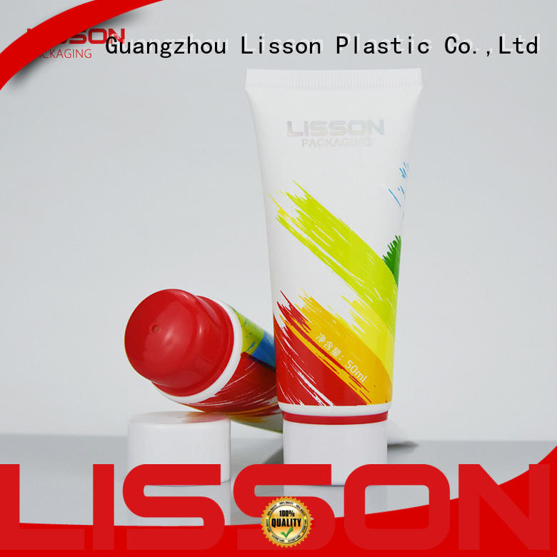 top brand plastic tube containers for toiletry Lisson