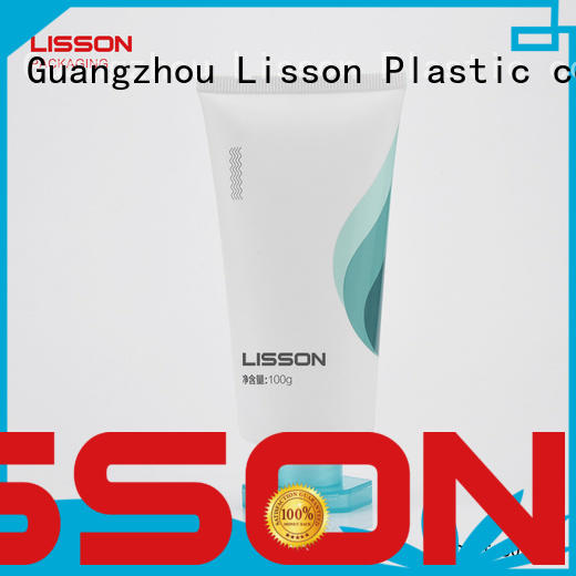 facial tube Lisson Brand bottles with flip top caps