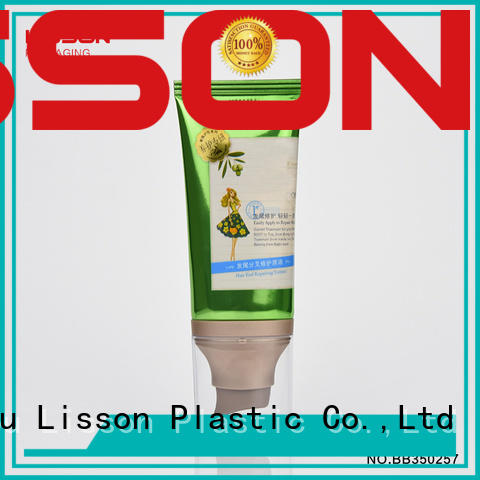 packaging airless pumps for cosmetics oval for cosmetic Lisson