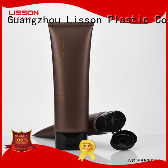 eye-catching design empty cosmetic tubes dual chamber for makeup Lisson