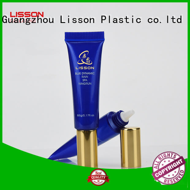 Lisson free sample custom cosmetic packaging acrylic for cosmetic