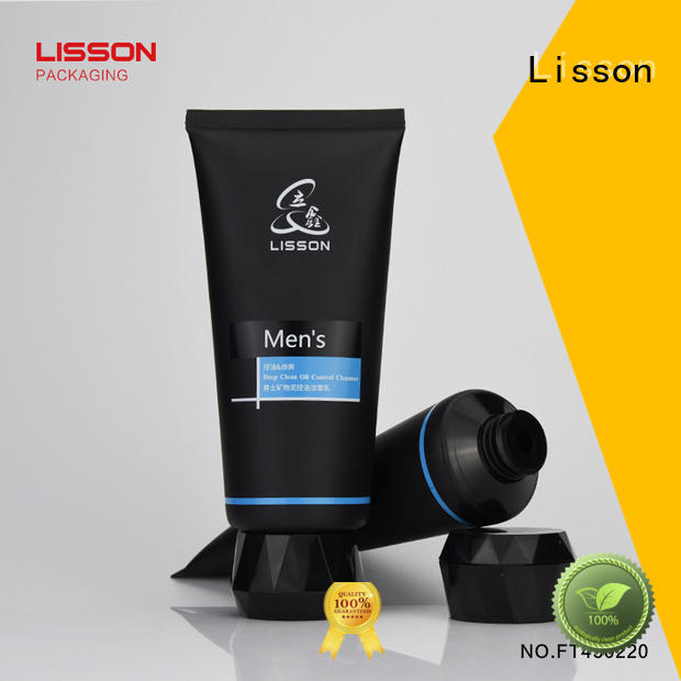 cleanser bottles with flip top caps round cap Lisson Brand