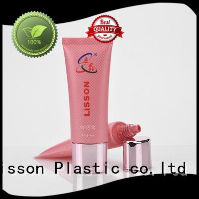 cap golden lotion packaging Lisson Brand