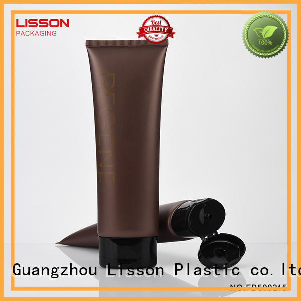 cosmetic Custom tube squeeze cosmetic tube Lisson facial