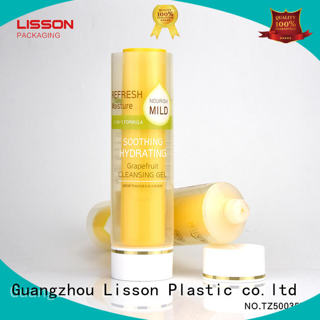 Lisson hot-sale clear plastic tubes with lids OBM for packaging