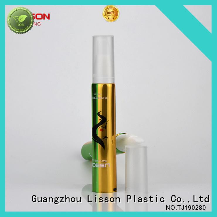 Lisson empty lip balm packaging acrylic