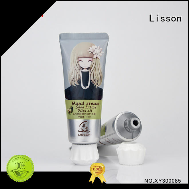 ecofriendly hand cream tube screw cap for packing Lisson