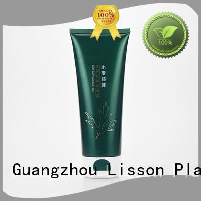 cap matte big green cosmetic packaging Lisson Brand