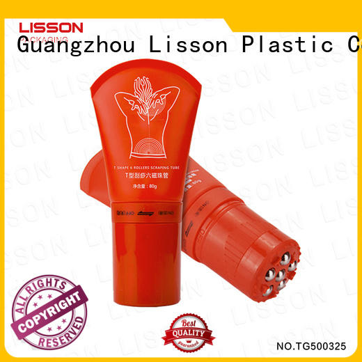 Lisson unique brand cosmetic tube for wholesale