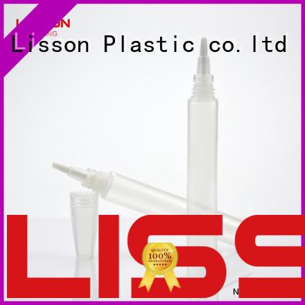 cream cosmetic tube oval Lisson company