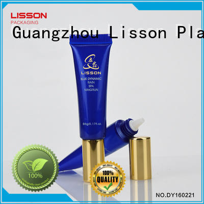 golden tube luxury hat cosmetic tubes wholesale Lisson Brand