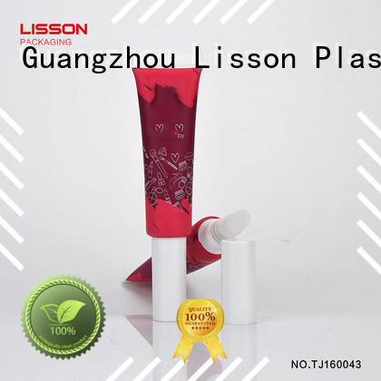 Lisson oem service lip scrub containers acrylic